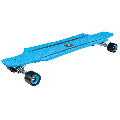 HUDORA Longboard CruiseStar blau/schwarz 92x24cm Skateboard Streetboard Cruiserboard Streetsurfer Board