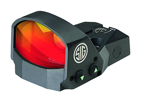 Sig Sauer ROMEO1 Mikro-Reflexvisier 1x30, 3 MOA mit Picantinny-Montage Red Dot, schwarz, 4.5 x 3.3 x 2.7 cm