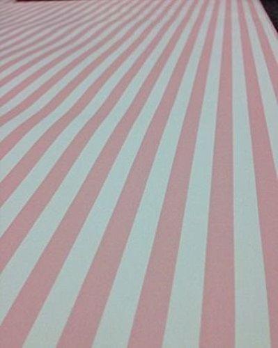 Hello Kitty Tapete, gestreift, Candy Pink, 20301930