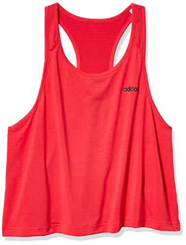 adidas - Camiseta de Tirantes para Mujer, diseño de 2 Movimientos, Color Rosa y Negro