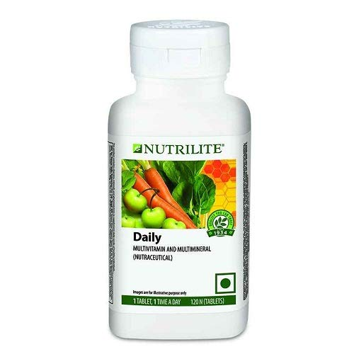 Amway Nutrilite Daily Multivitamin and Multimineral Tablets - 120 Tabs