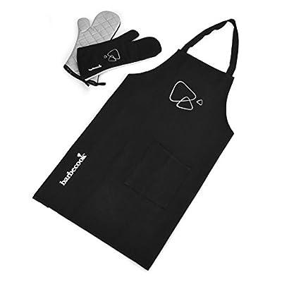 barbecook 2230802000 Schürzenset mit 1 Paar Grillhandschuhe