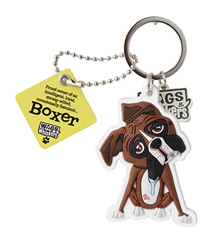 Wags and Whiskers Boxer Key Ch