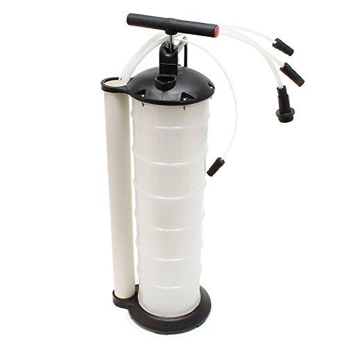 Ölabsaugpumpe Flüssigkeitenabsaugpumpe 7 Liter inklusive Schläuche