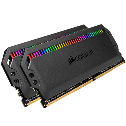 Corsair Dominator Platinum RGB 16GB (2x8GB) DDR4 3000MHz C15 Enthusiast RGB LED-Beleuchtung Arbeitsspeicher, schwarz