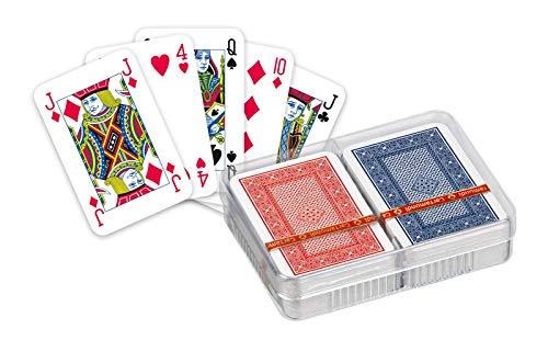 Cartamundi 102005429 Spielkarten Ace Patience 2-Deck, Leinenoptik im Geschenkkarton