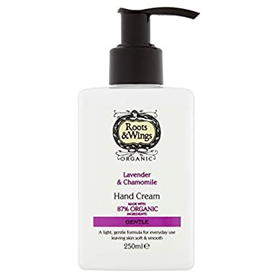 Roots & Wings Organic Gentle Lavender & Chamomile Hand Cream 250ml
