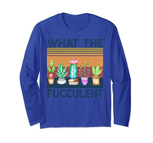 Lo que los cactus fuculentos Plantas suculentas Regalos de Manga Larga