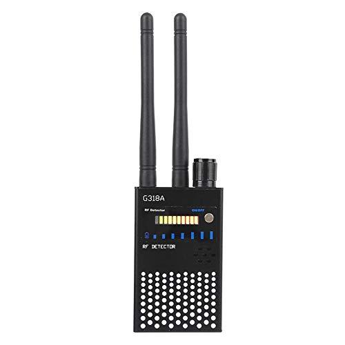 VGEBY Detector Anti espía ABS Detector de GPS de Alta sensibilidad Negro Cámara Detección de teléfono móvil 110-220V