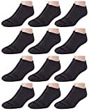 With comfortable, stretch fabric that provides support while allowing you to retain your full range of motion and mobility Reinforced heel and toe provides added durability in high-wear areas Cushion comfort to provide cozy feel all day Socks have ad...