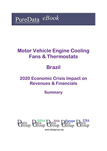 Motor Vehicle Engine Cooling Fans & Thermostats Brazil Summary: 2020 Economic Crisis Impact on Revenues & Financials (English Edition)