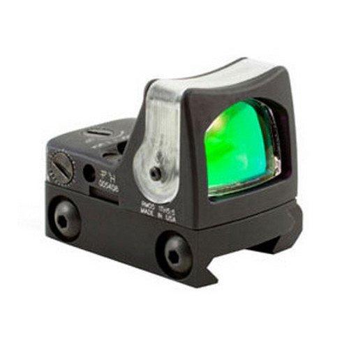 TRIJICON RMR 9 MOA Dual Illuminated Amber Dot Sight, Unisex, RM05G-33, Schwarz mit grünem Punkt