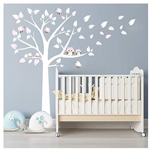 BDECOLL Lot dautocollants muraux Motif maman et b/éb/é koala sur un arbre Id/éal pour d/écorer une chambre denfant//une cr/èche Black-White