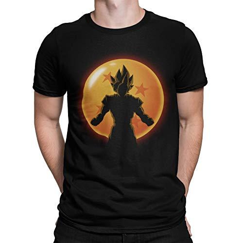 4523-Camiseta Premium,Super Saiyan Hero (ddjvigo)-L