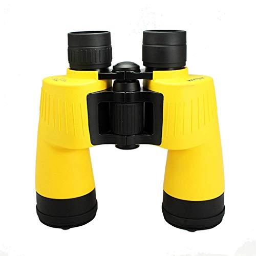 LEOO 10 x 50 potentes binoculares de tamaño Completo para Adultos, binoculares Transparentes duraderos para observar Aves Observar la Vida Silvestre Eventos Deportivos con Poca luz Visión Nocturna