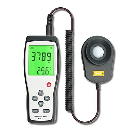 Kumiy Digitale Luxmeter Digital Lux Meter Photometrie Illuminometer Spektrometer Spektralphotometer High Precision Light Meter 200,000lux