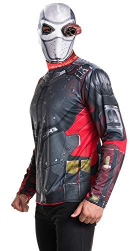 Rubie's Costume Men's Suicide Squad Deadshot Costume Kit, As Shown, Teen