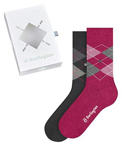 Burlington Damen Basic Gift Box W SO Socken, Mehrfarbig (Sortiment 0040), 36-41 (UK 3.5-7 Ι US 6-9.5) (2er Pack)