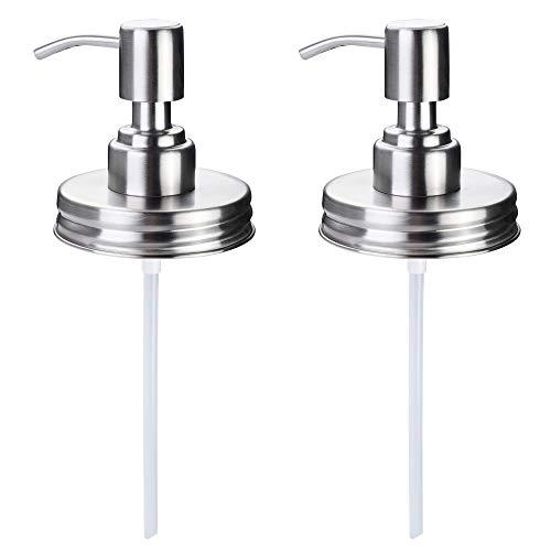 Cosmos Seifenspender-Pumpe für Einmachglas, 2 Stück