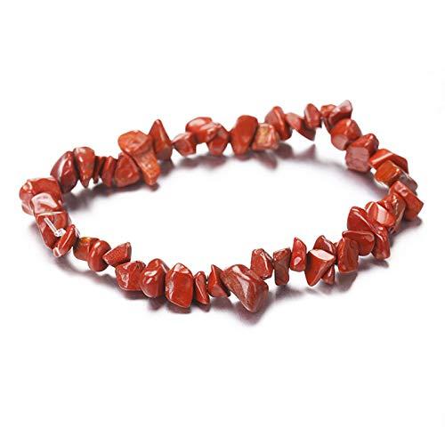 WFZ17 Pulsera con patrón de piedra irregular, pulsera de muñeca, joyería de regalo para mujeres y niñas 08