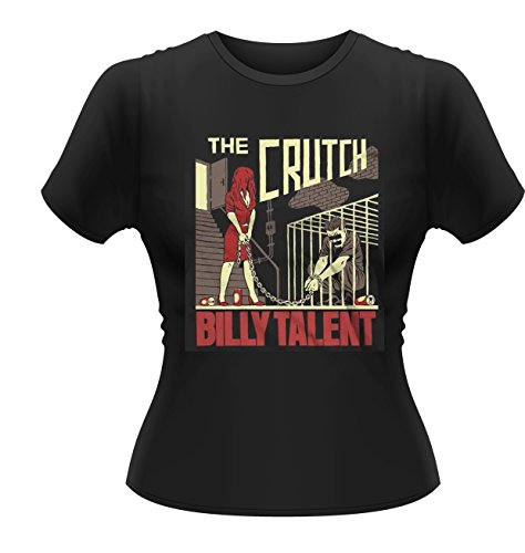 Plastic Head Damen Billy Talent The Crutch Gts T-Shirt, Schwarz (Black), Large