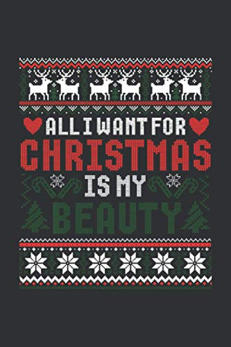 All I Want for Christmas Is My Beauty (Dream Journal): Christian Dream Journal Notebook, Dream Journal Notebook Activity