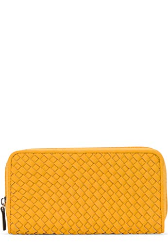 Tamaris Damen Portemonnaie Amber gelb One Size