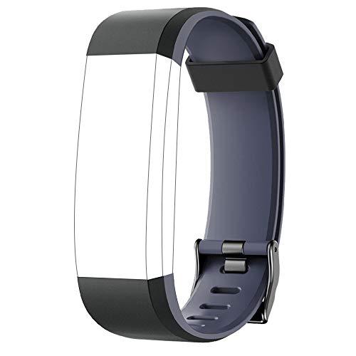 YAMAY Ersatz Armband für SW350 Fitness Tracker (Schwarz)