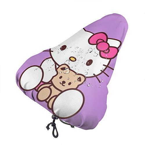 DNBCJJ Funda para asiento de bicicleta, Hello Kitty, imperme