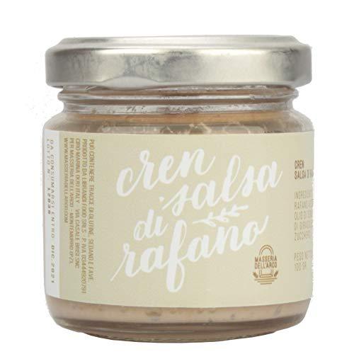 Crema di rafano cren spalmabile | Crema a base di rafano prodotta con la barbaforte che cresce in...