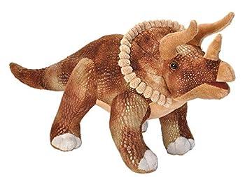 Wild Republic Triceratops Plush Dinosaur Stuffed Animal Plush Toy Kids Gifts Dinosauria 17 Inches