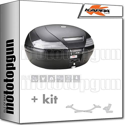 KAPPA MALETA K49NT 47 LT + PORTAEQUIPAJE MONOKEY COMPATIBLE CON BMW K75 750