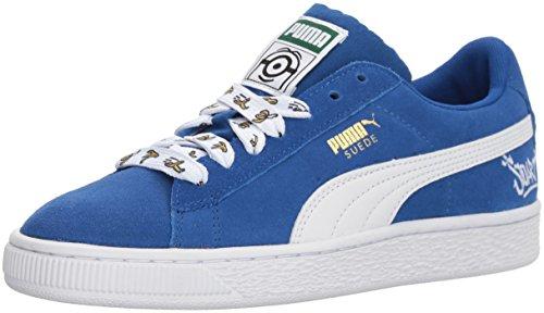 PUMA Kids' Minions Suede Sneaker
