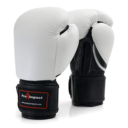 Pro Impact Boxing Gloves - Durable Knuckle Protection w/Wrist Support for Boxing...