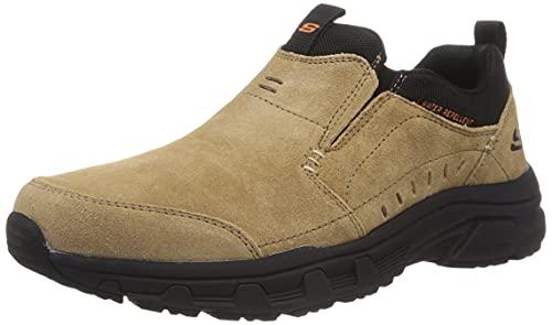 Skechers Oak Canyon Oxford – Zapatillas para hombre, Marrón (Marrón), 43.5 EU