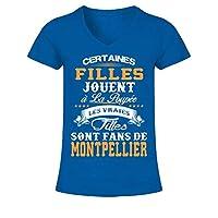 Certaines filles jouent à la poupée les vraies filles sont fans de Montpellier