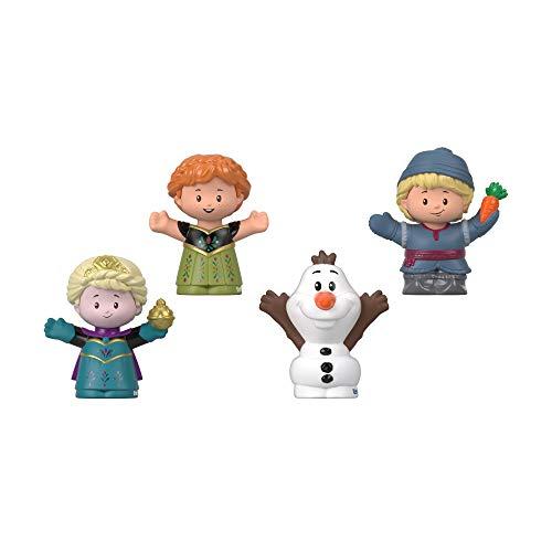 Fisher-Price GMJ13 - Little People Frozen 4er-Pack Figuren, Kleinkind Spielzeug ab 18 Monaten