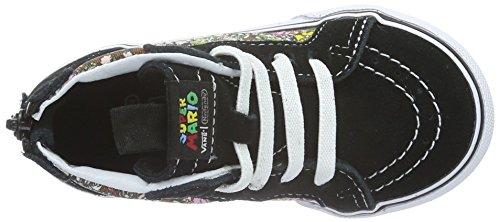 Vans SK8-HI Reissue Toddler Fashion Sneakers (Nintendo) Mario Luigi/True White Size 4.5