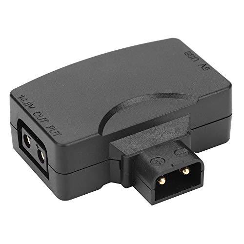 Mugast D-Tap naar 5V USB-adapter, D-Tap naar 5V USB-aansluiting voor alle V-Mount accu's compatibel met BMCC/monitor/smartphone/USB-apparaten