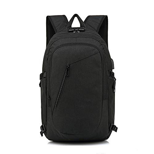Laptop Backpack, Work Bag Lightweight Laptop Bag with USB Charging Port, Anti Theft Business Backpack, Water Resistant School Rucksack Gifts for Men and Women, Fits 15.7 Inch Laptop