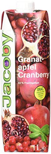 Jacoby Granatapfel-Cranberry, 6er Pack (6 x 1 l)