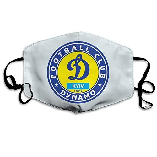 Dy-namo Kyiv - Pañuelo para la cara, ajustable, transpirable, antipolvo, repetición de la boca, ejercicio matutino