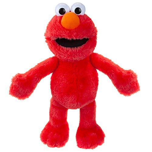 Sesame Street 467195 Elmo - Peluche Oficial Grande, Multicolor, 30 cm
