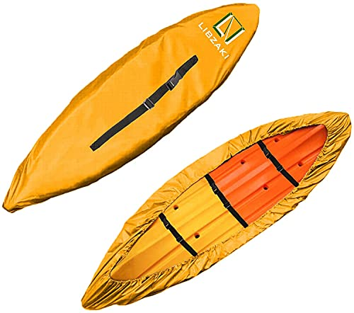LIBZAKI 10.8-12ft Kayak Cover Accessories, Waterproof & UV Protection SUP Paddle...