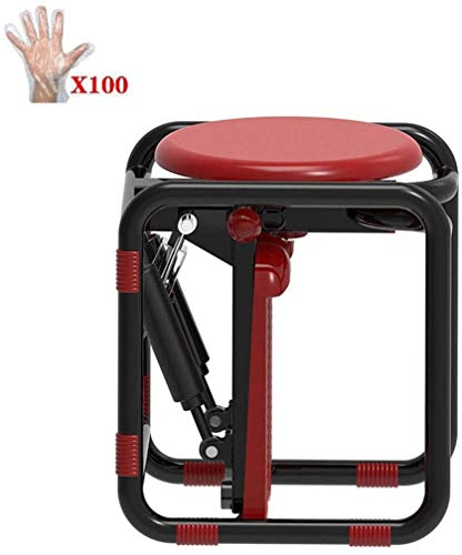 RVTYR 360 °;Rotation Aerobic Mini Stepper Leg Toner Toning Workout Low Impact Fitness Fitnessgerät LCD-Display Silent-Entwurf steppbrett (Color : Red)