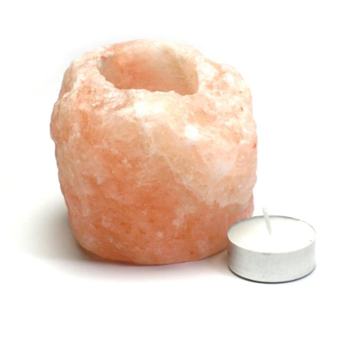 ハリケーン容器抑圧ヒマラヤ岩塩 キャンドルホルダー1~1.4kg ピンクソルトキャンドルスタンド ティーライト用 ランタン