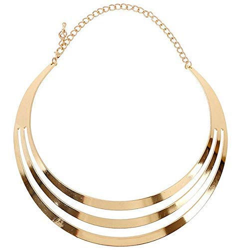 Europese en Amerikaanse Mode Sieraden- Ketting Verklaring Kettingen Choker Grove Verklaring Goud Sieraden Vrouw Cadeau, Thumby