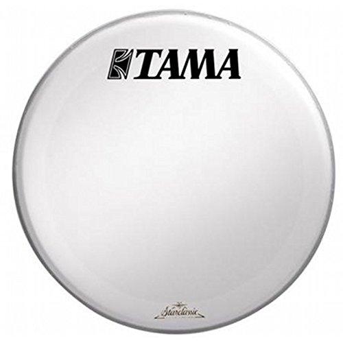 "Tama SW22BMTT - Parche resonante de bombo (22""), color blanco"