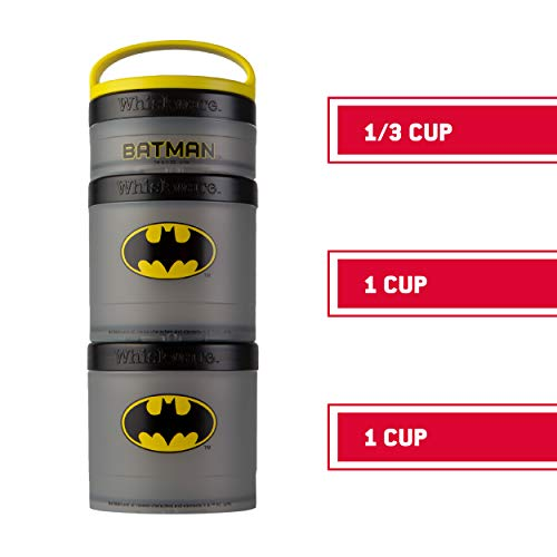 Product Image 4: Whiskware Justice League Stackable Snack Pack, Superman