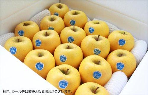 大柳果樹園 岩手県産りんご シナノゴールド 5kg(16-23玉) 自宅用